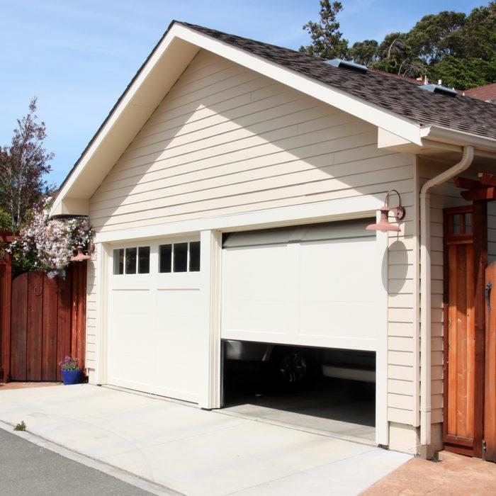 Portoncino garage
